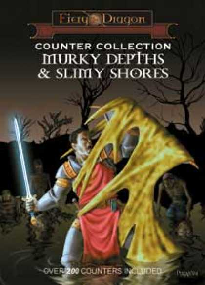 Role Playing Games - Counter Collection: Murky Depths and Slimy Shores
