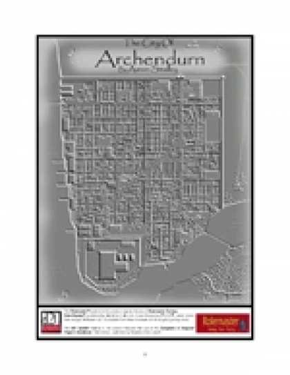 Role Playing Games - City of Archendurn