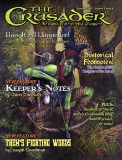 Role Playing Games - Crusader Journal No. 6