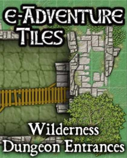 Role Playing Games - e-Adventure Tiles: Wilderness Dungeon Entrances