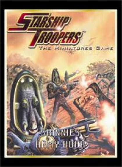 Role Playing Games - Starship Troopers: Skinnies Army Book