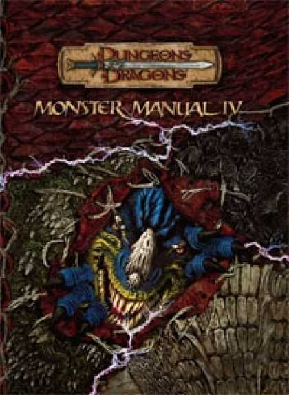Role Playing Games - Monster Manual IV