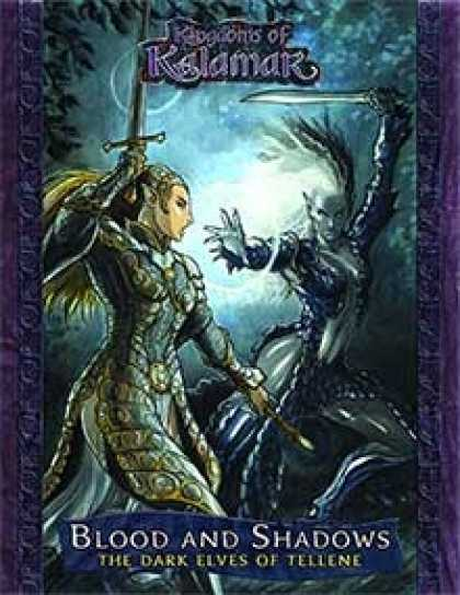 Role Playing Games - Blood and Shadows: The Dark Elves of Tellene