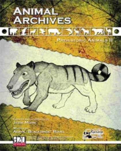 Role Playing Games - Animal Archives: Prehistoric Animals II