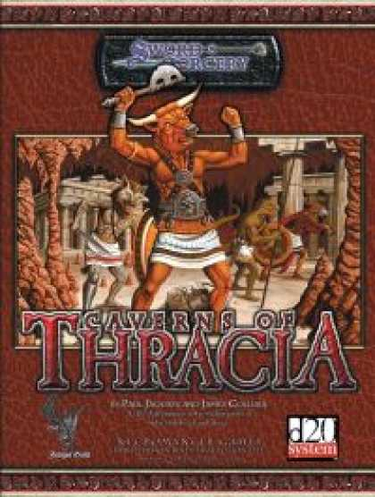Role Playing Games - Caverns Of Thracia
