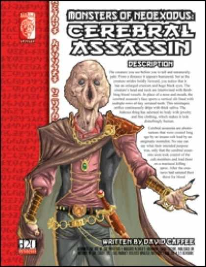 Role Playing Games - Monsters of NeoExodus: Cerebral Assassin