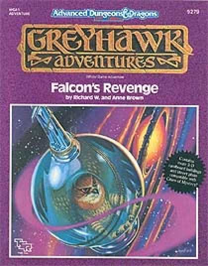 Role Playing Games - Falcon's Revenge