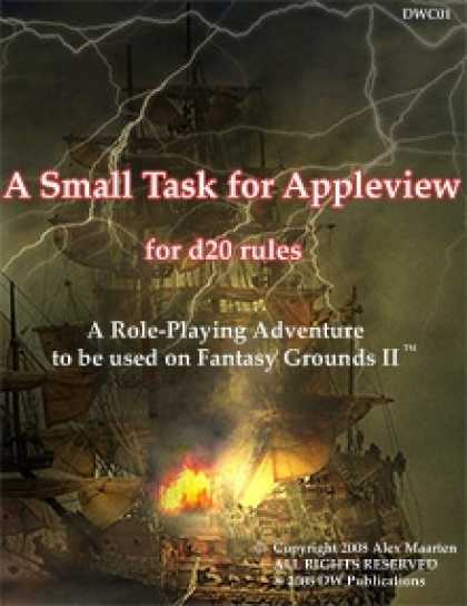Role Playing Games - A Small Task for Appleview