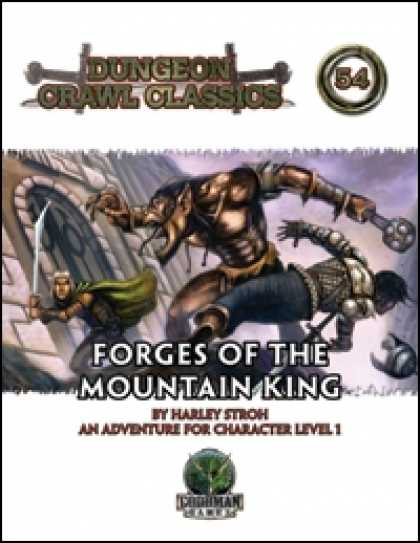 Role Playing Games - Dungeon Crawl Classics #54: Forges of the Mountain King