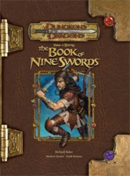 Role Playing Games - Tome of Battle: The Book of Nine Swords