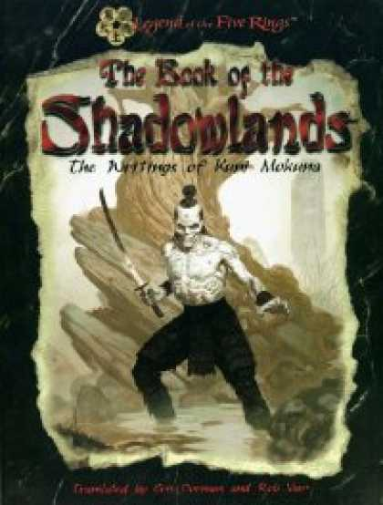 Role Playing Games - Book of the Shadowlands