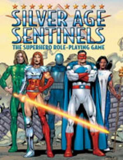 Role Playing Games - Silver Age Sentinels Standard Tri-Stat Edition