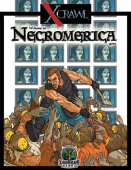 Role Playing Games - Xcrawl: Necromerica (level 7 adventure)