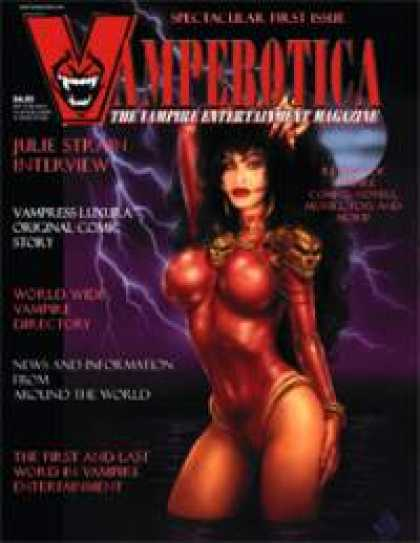 Role Playing Games - Vamperotica Magazine V1N01