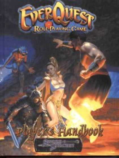 Role Playing Games - EQ rpg: Player's Handbook