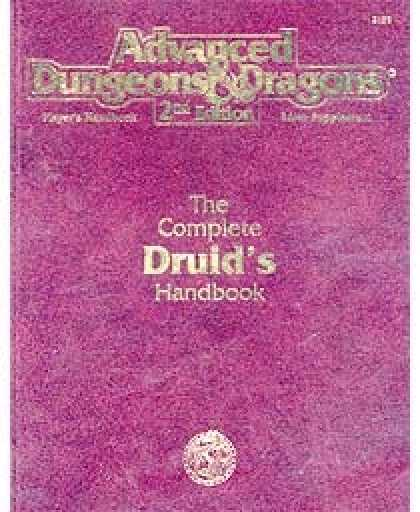 Role Playing Games - Complete Druid's Handbook