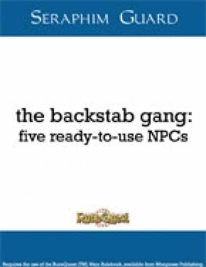 Role Playing Games - The Backstab Gang: Five Ready-To-Use NPCs (Runequest)