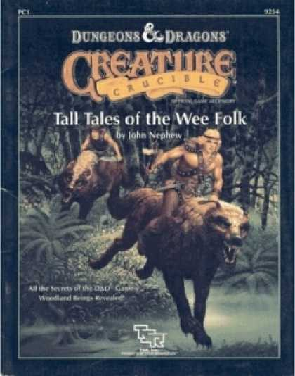 Role Playing Games - PC1 - Creature Crucible: Tall Tales of the Wee Folk