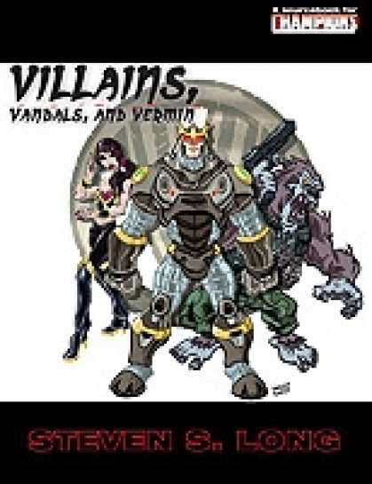 Role Playing Games - Villains, Vandals And, Vermin - PDF