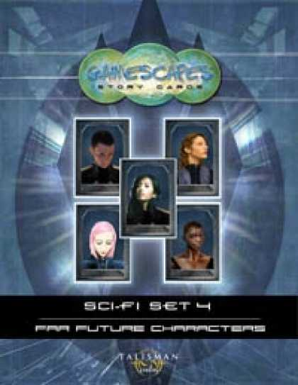 Role Playing Games - Gamescapes: Story Cards, Sci-fi Set 4