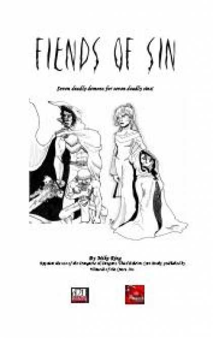 Role Playing Games - Fiends of Sin: Seven Deadly Fiends for Seven Deadly Sins