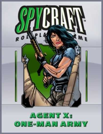 Role Playing Games - Agent X: One-Man Army
