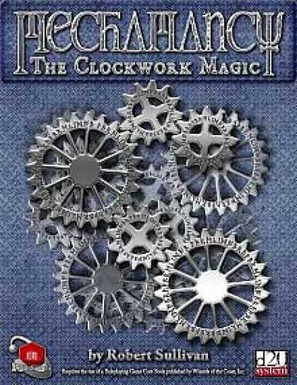 Role Playing Games - Mechamancy: The Clockwork Magic
