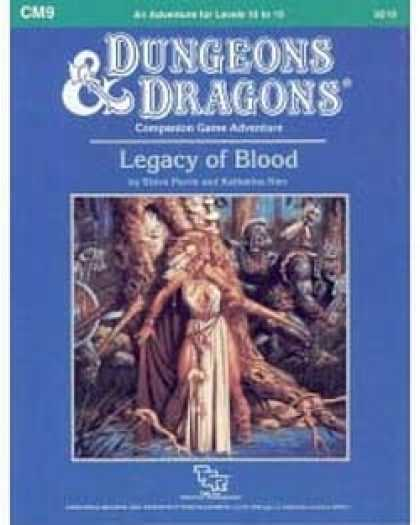 Role Playing Games - CM9 - Legacy of Blood