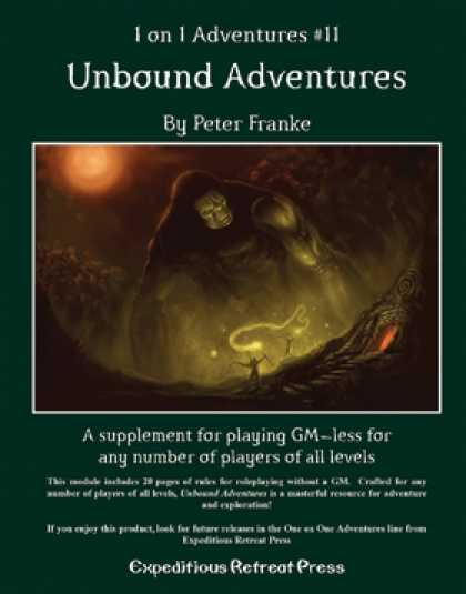 Role Playing Games - 1 on 1 Adventures #11: Unbound Adventures