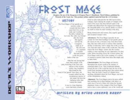 Role Playing Games - Lost Classes: Frost Mage
