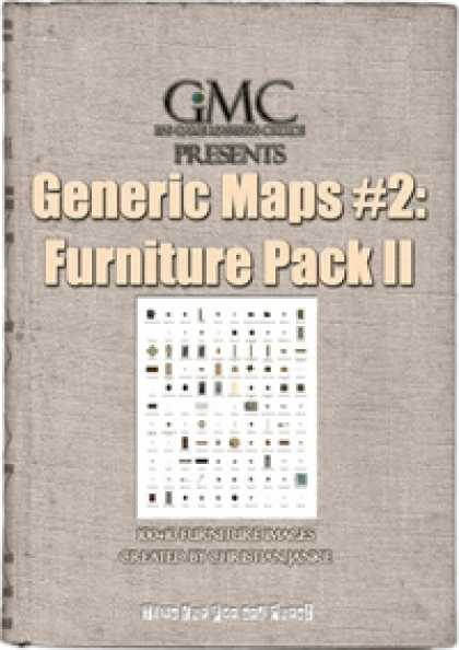Role Playing Games - Generic Maps #2: Furniture Pack II