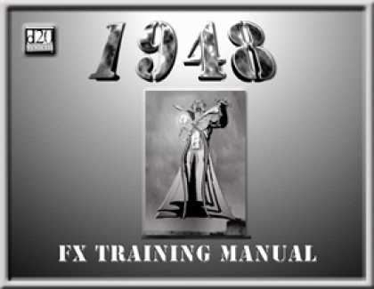Role Playing Games - 1948: FX Training Manual