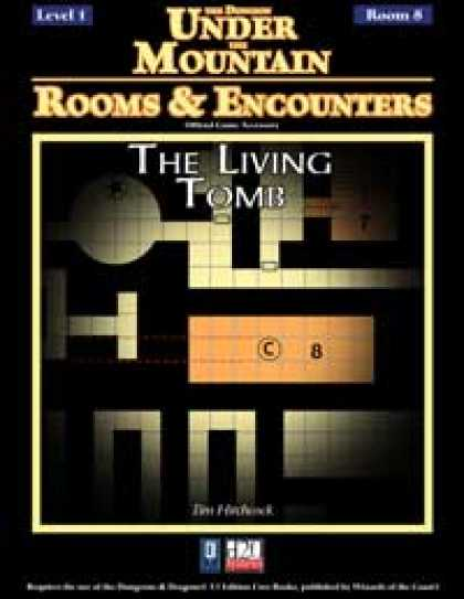 Role Playing Games - Rooms & Encounters: The Living Tomb