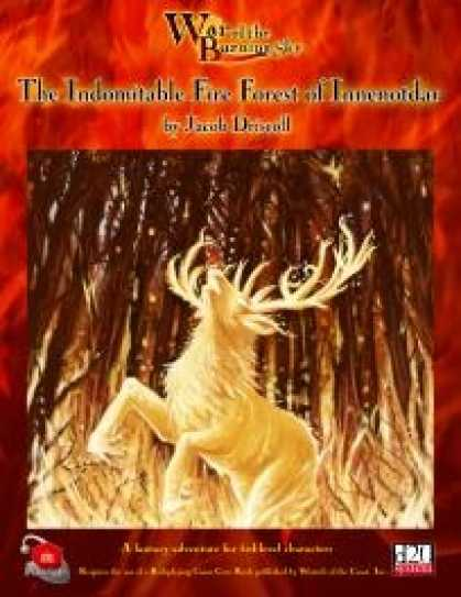 Role Playing Games - War of the Burning Sky #2: The Indomitable Fire Forest of Inneno