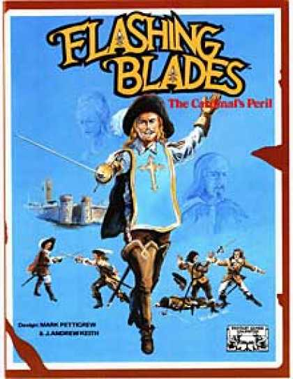 Role Playing Games - Flashing Blades: The Cardinal's Peril