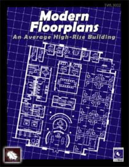 Role Playing Games - Modern Floorplans: High-Rise Building