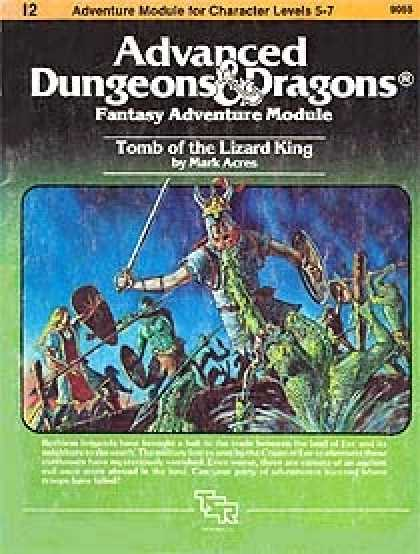 Role Playing Games - I2 - Tomb of the Lizard King