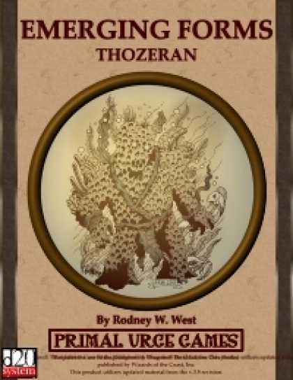 Role Playing Games - Emerging Forms - Thozeran