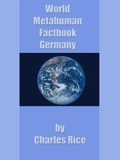 Role Playing Games - World Metahuman Factbook: Germany