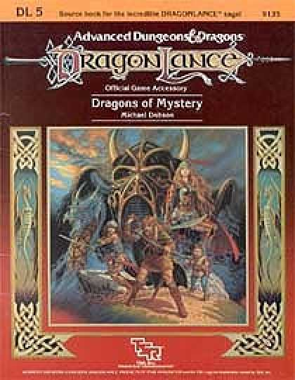 Role Playing Games - Dragons of Mystery
