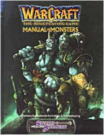 Role Playing Games - Warcraft: Manual of Monsters