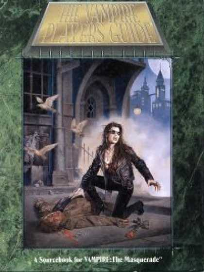 Role Playing Games - Vampire Players Guide - 2nd Edition