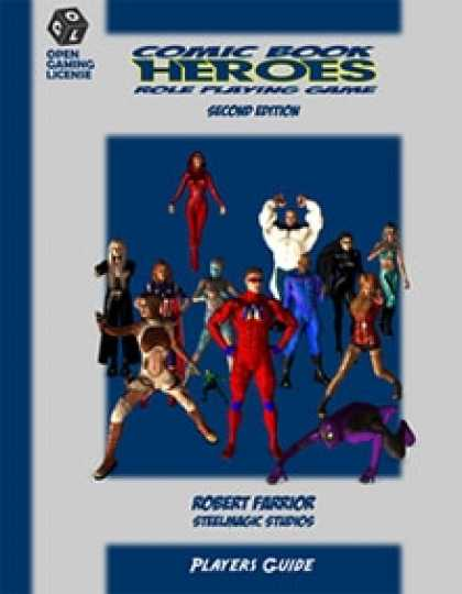 Role Playing Games - Comic Book Heroes - 2nd Edition