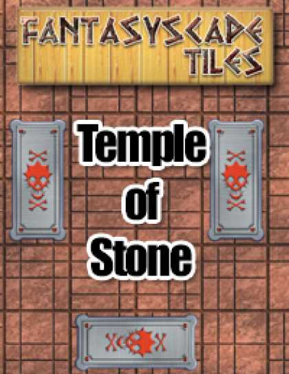 Role Playing Games - Fantasyscape Tiles: Temple of Stone