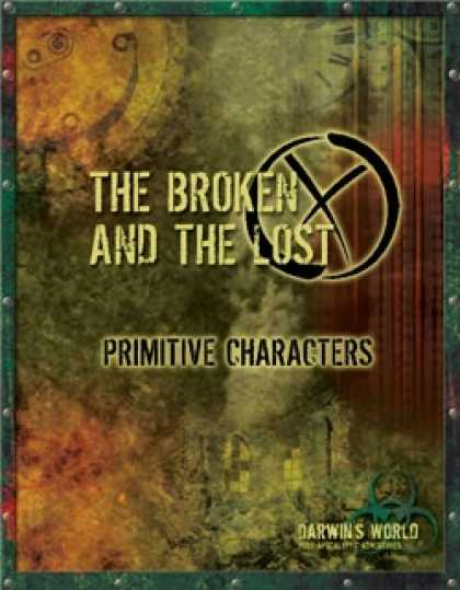 Role Playing Games - DW: The Broken and The Lost: Primitive Characters
