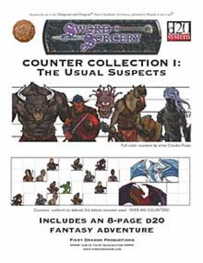 Role Playing Games - Counter Collection I: The Usual Suspects