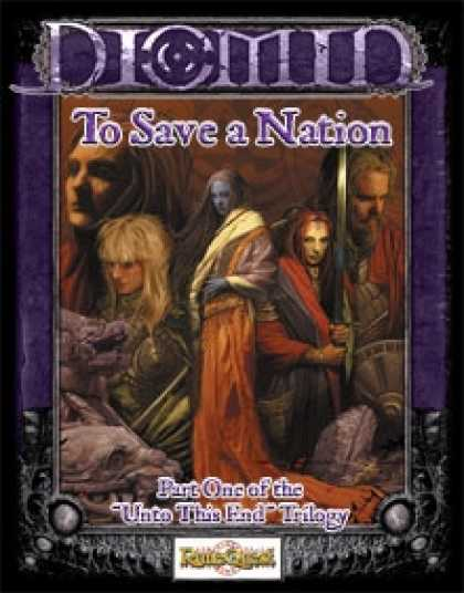Role Playing Games - (RuneQuest) To Save a Nation