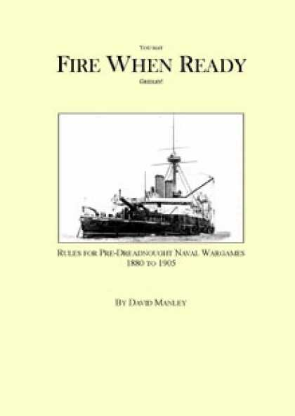 Role Playing Games - Fire When Ready