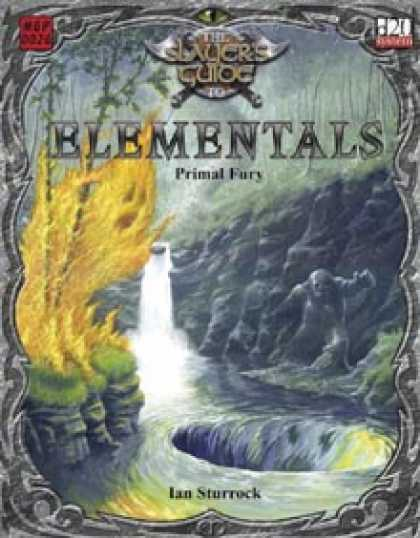 Role Playing Games - Slayer's Guide to Elementals