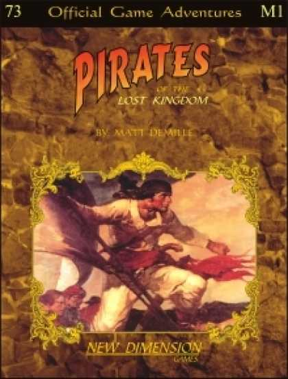 Role Playing Games - Pirates: The Lost Kingdom--Adventure pack M1